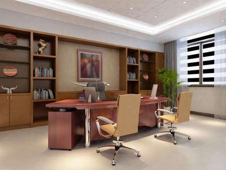 rendering office room