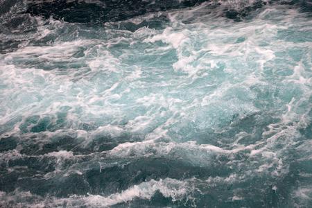 Photo pour Stormy waves floating heaven magic mystical nobody - image libre de droit
