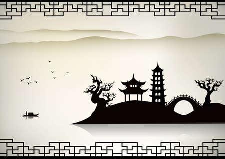 Foto de China landscape - Imagen libre de derechos
