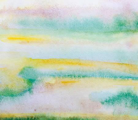 Illustration pour Vector watercolor texture. Vintage watercolor background. Beautiful colorful painting. - image libre de droit