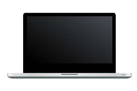 Laptop Icon, Isolated On White Background, Vector Illustration
