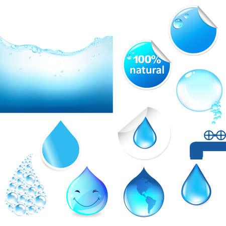 Water Symbols Set