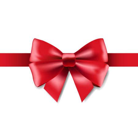 Illustration pour Red Ribbon Isolated, Vector Illustration - image libre de droit