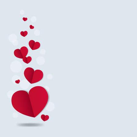 Illustration pour Valentines Day Card With Gradient Mesh, Vector Illustration - image libre de droit
