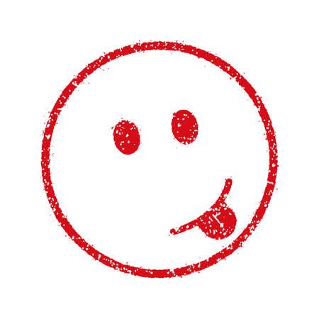 emoticonsface stamp icon (sticking, tongue)