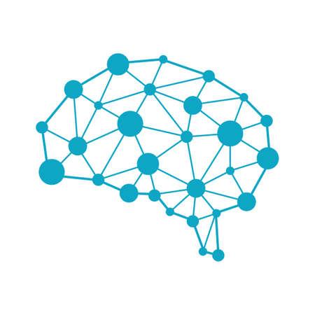 Illustration pour AI (artificial intelligence) image illustration. - image libre de droit