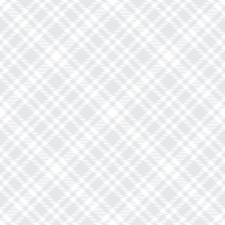 Ilustración de Tartan light gray seamless vector pattern. Checkered plaid texture. Geometrical simple square background for fabric textile cloth, clothing, shirts shorts dress blanket, wrapping design - Imagen libre de derechos