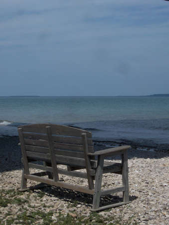 Bench in Northern Michigan