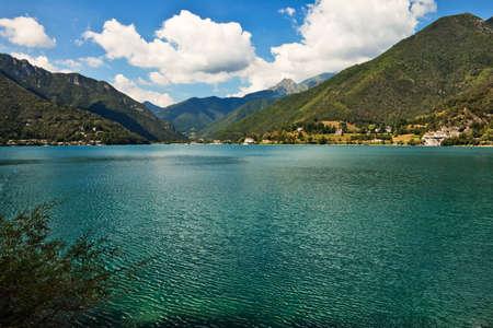 Lago di Ledro view, Italy.
