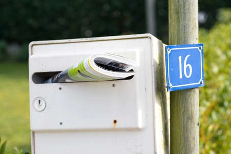 A mailbox to me advertising prospectus