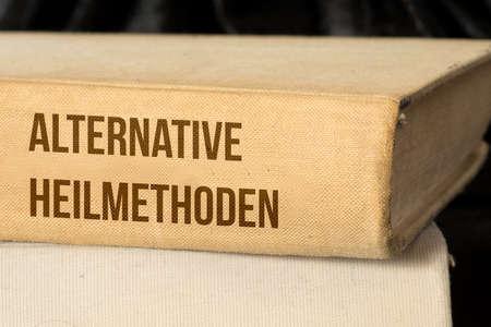 A medicine book for the alternative healing methods