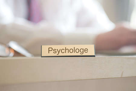 A man and a reference to a psychologist