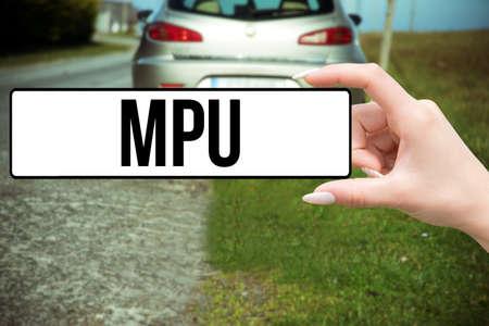 A car and MPU test