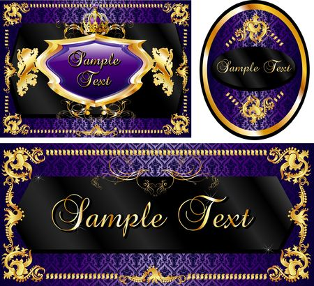 Vector Illustration of banner, poster or card templates.
