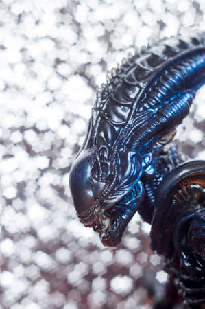 Alien from sci-fi movie