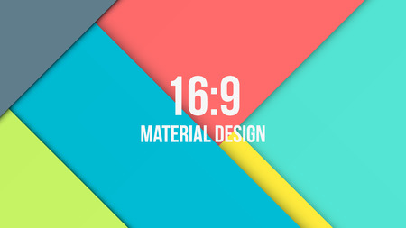 Background Unusual modern material design. Abstract Vector Illustration.