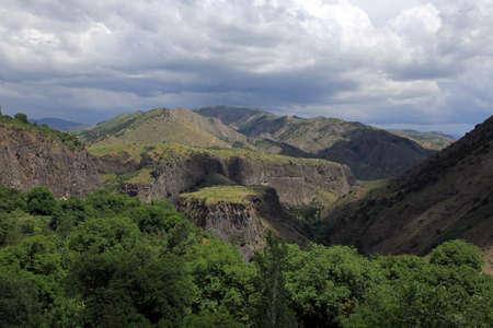 Garni Gorge, below Garni village, Armenia