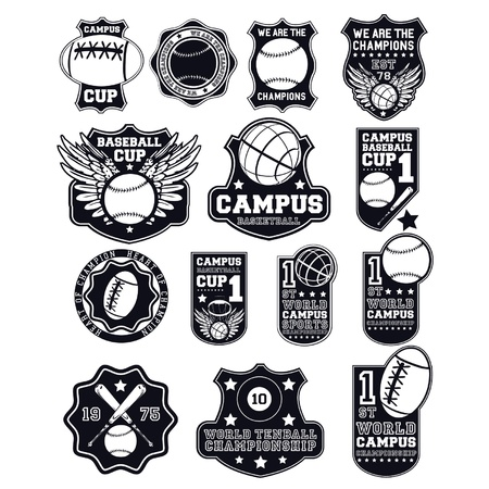 collage badges