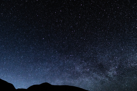 Photo for Night starry sky background, universe - Royalty Free Image