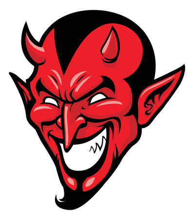 Illustration pour devil head - image libre de droit