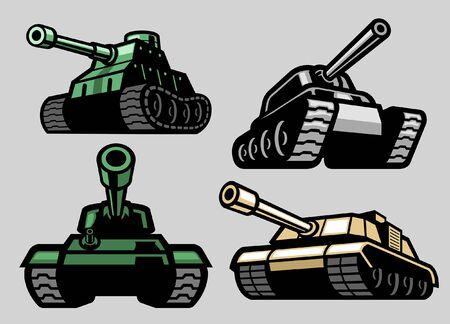 set bundle of tank