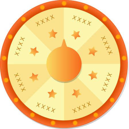 Illustration pour spin and win - image libre de droit