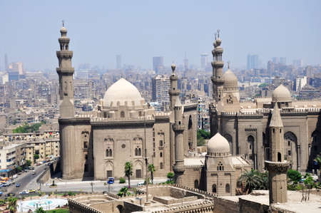 Landmark of the famous ancient castle in Cairo,Egypt