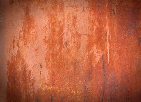 Photo pour Red old painted metal  texture - image libre de droit