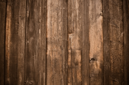 Photo for Rustic Dark Aged Wood Background - Royalty Free Image