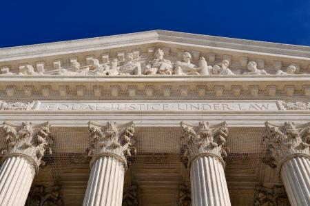 United States Supreme Court Building Pillars