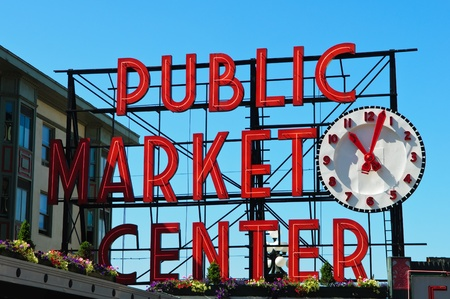 Public Market Center in Seattle Washington