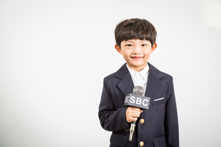 Young Child Reporter