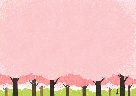 Illustration pour Springtime Vector illustration. - image libre de droit