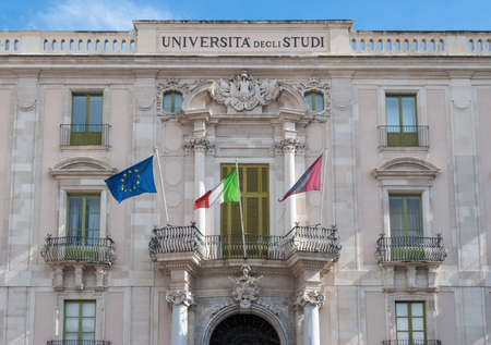 The main building of the University of Catania