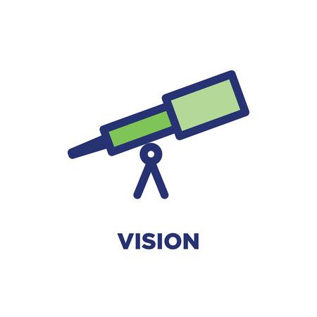 Vektor für Core Values Outline - Line Icon Conveying Specific Purpose - Lizenzfreies Bild