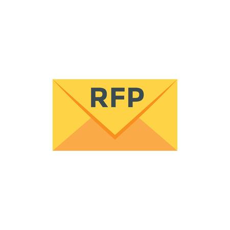 RFP Icon - request for proposal concept - idea
