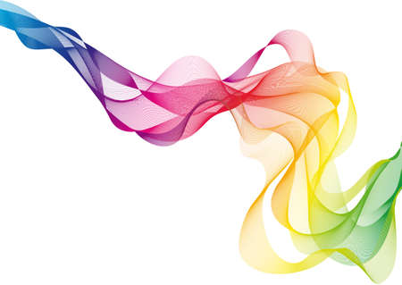 Illustration for abstract colorful smoke  - Royalty Free Image