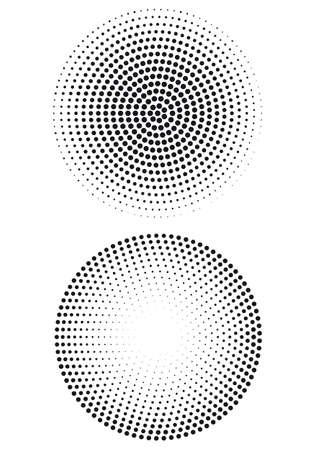 halftone dot pattern, vector background