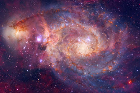Photo for Galaxy in outer space. Beautiful science fiction wallpaper. - Royalty Free Image