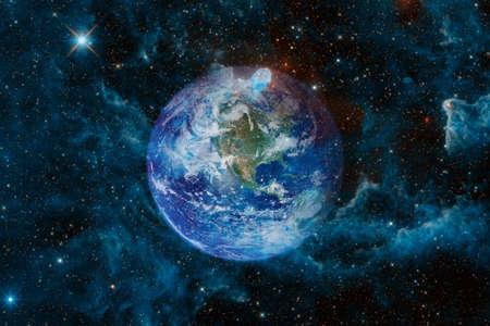 Foto de Earth. Solar system. - Imagen libre de derechos