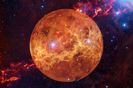 Foto de Planet Venus. Solar system. Cosmos art. - Imagen libre de derechos