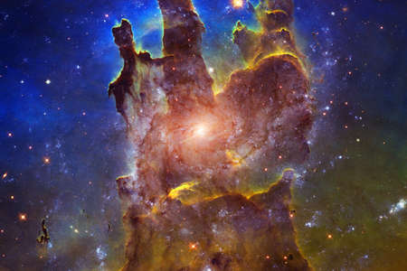 Photo for Beautiful galaxy.Starfield Outer space art. - Royalty Free Image