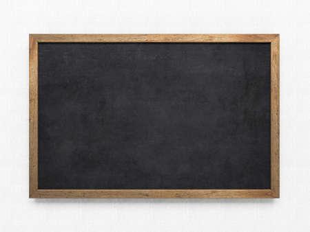Photo pour Blank old blackboard - image libre de droit