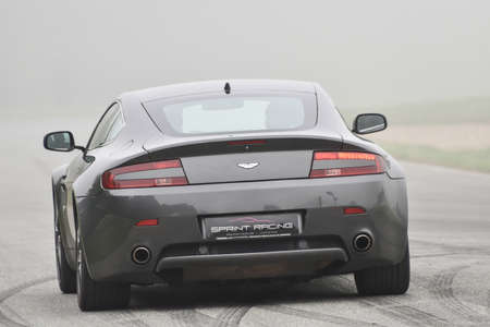 September 11,2015: Aston Martin,le Circuit de Lohéac,France