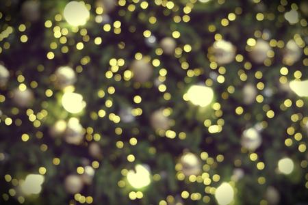 Photo pour Blurred photo of Christmas lights - image libre de droit