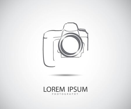 Illustration for Camera Icon Vector Illustration - Royalty Free Image