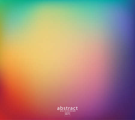 Illustration pour Abstract blurred gradient mesh background bright rainbow colors. Colorful smooth soft banner template. Creative vibrant vector illustration - image libre de droit