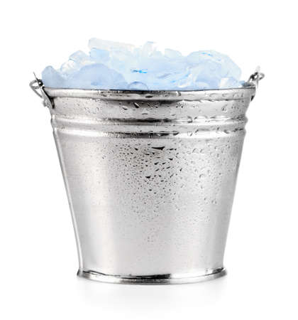 Ice in pail
