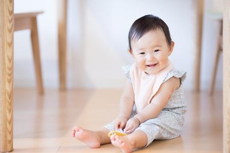 Foto de Cute baby.Japanese Asian - Imagen libre de derechos