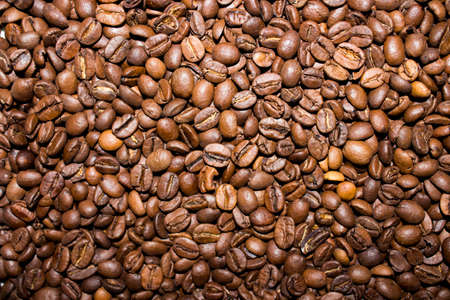 von with wonderful and fragrant coffee beans